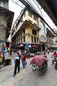 The Crowded Streets Of Kathmandu, Nepal