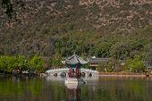 Black Dragon Pool In Lijiang.