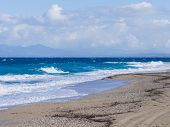 Agios Yoannis beach on Lefkas island in Greece