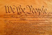 stock photo of preamble  - Preamble to the Constitution - JPG