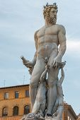 Statue of Neptun in Florence, Italy