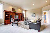 Furnished Modern Living Room