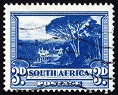 Postage Stamp South Africa 1940 Groote Schuur, Rhodes's Home
