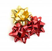 Three Bow To Decorate Gifts