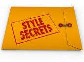 Style Secrets Yellow Classified Envelope Help Advice Tips