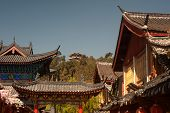 Historic Town Of Lijiang,unesco World Heritage Site In Yunnan,china.