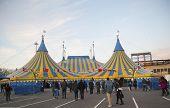 Cirque du Soleil circus tent at Citi Field in New York