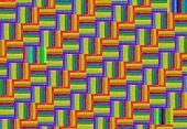 Rainbow Pattern Of Crayons