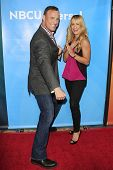 PASADENA - APR 8: Matt Iseman, Jenn Brown at the NBC/Universal's 2014 Summer Press Day held at the L