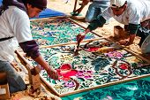 Making A Holy Week Carpet, Antigua, Guatemala