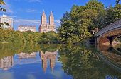 Central Park, City Skyline, Manhattan New York