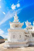 Detail Of  Wat Rong Khun, In Chiang Rai Province