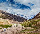stock photo of himachal pradesh  - Himalayan landscape - JPG