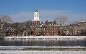 Boston in Snow - Harvard