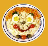 Kids potato salad