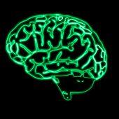 Abstract Green Brain
