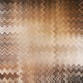 art abstract colorful zigzag geometric pattern background in beige, white, orange, grey and brown colors