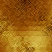 art abstract geometric horizontal stripes pattern background in gold and brown colors