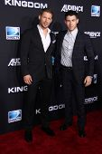 LOS ANGELES - OCT 1:  Matt Lauria, Nick Jonas at the