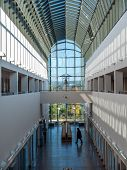 ROVANIEMI, FINLAND - SEPTEMBER 28 2014: Arktikum - Arctic Center and Regional Museum of Lapland, Rovaniemi, Finland