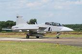 Swedish jetfighter
