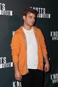 LOS ANGELES - OCT 3:  Garrett Clayton at the Knott's Scary Farm Celebrity VIP Opening  at Knott's Berry Farm on October 3, 2014 in Buena Park, CA