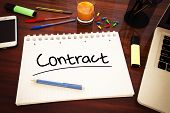 foto of contract  - Contract  - JPG