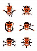 Skull sea tribal tattoo