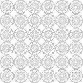 Round oriental pattern, Circular ornament design element Vector