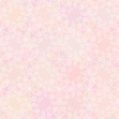 Abstract vector background Seamless floral texture Pink color