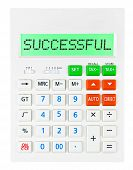 Calculator With Successful