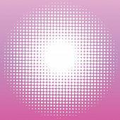Dots Ina Circle Purple Background