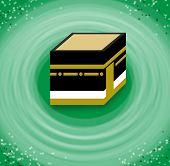 Hajj. Circumambulation of the Kaaba