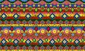 Ukrainian National Traditional Shirt Pattern Isolated