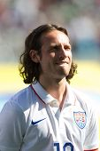 CARSON, CA. - FEB 2 : United States midfielder Mix Diskerud during the USA friendly against Panama on February 2nd 2015 at the StubHub Center in Carson, California.