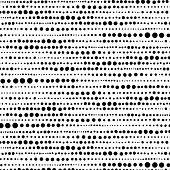Random hand drawn dot pattern background.
