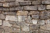 Masonry Of Coquina Bricks