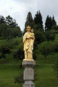MARIJA BISTRICA, CROATIA - JULY 14: Our Lady of Marija Bistrica, basilica Assumption of the Virgin Mary in Marija Bistrica, Croatia, on July 14, 2014