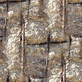 image of reinforcing  - seamless texture of concrete reinforcement background wallpaper art - JPG