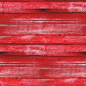 seamless texture of red wooden fence