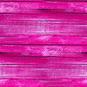 seamless texture wooden fence of the old pink