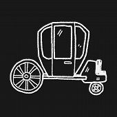 picture of stagecoach  - Carriage Doodle - JPG