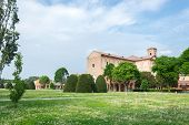 stock photo of ferrara  - Certosa of Ferrara the ancient graveyard of the city - JPG