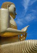stock photo of buddha  - Buddha Statue Buddha in Meditation buddha portrai - JPG