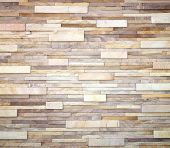 stock photo of fortified wall  - Background of stone wall made with blocks - JPG