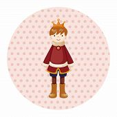 stock photo of prince charming  - Royal Theme Prince Elements Vector - JPG
