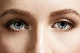 image of eyebrows  - Close - JPG