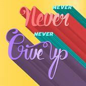 Постер, плакат: Lettering Motivation Poster