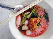 Yong tau foo noodle soup