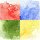 colorful watercolor background for your design